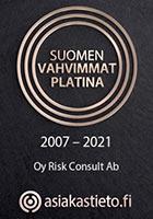 Suomen vahvimmat Platina 2007-2021