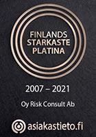 Finlands starkaste Platina 2007-2021